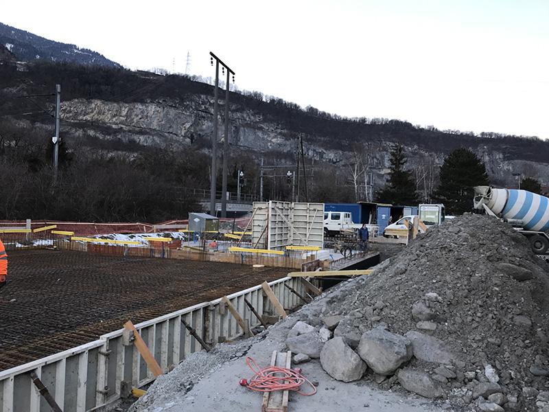 Lancement de la construction de la nouvelle Caserne des pompiers à St-Maurice